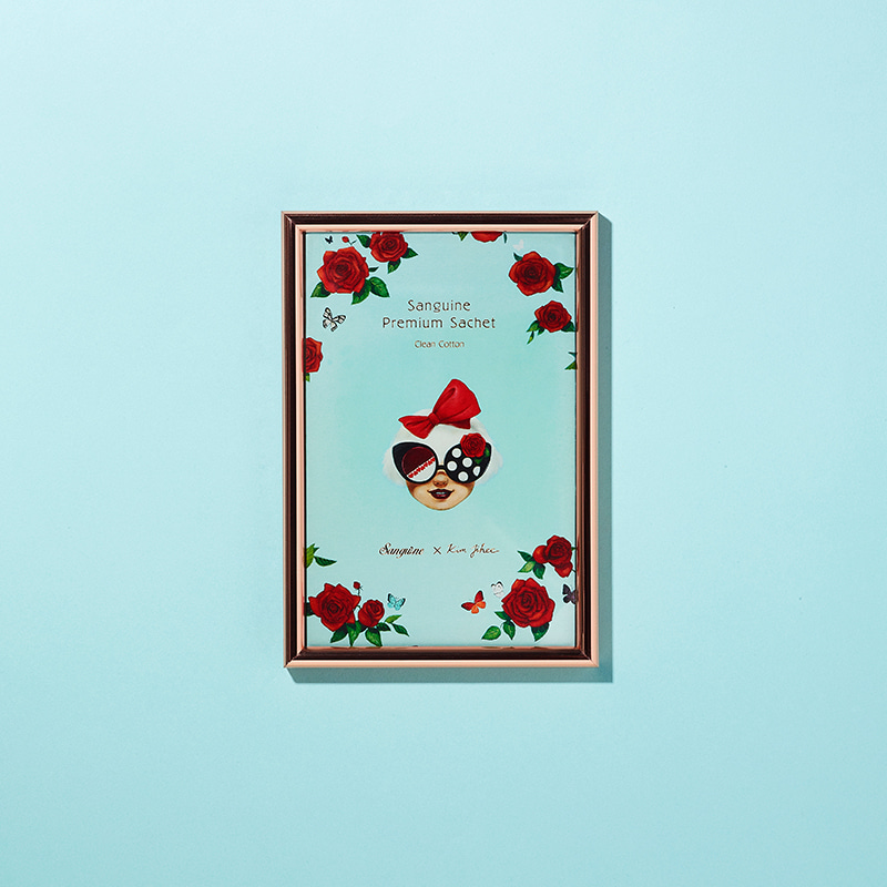 Premium Sachet_김지희[Kim ji hee X sanguine]Clean Cotton생귄 Sanguine